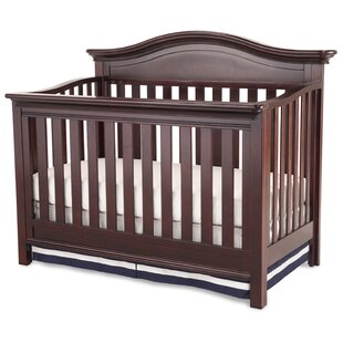 Reviews Slumber Time  Augusta Molasses 4-in-1 Convertible Crib BySimmons Kids