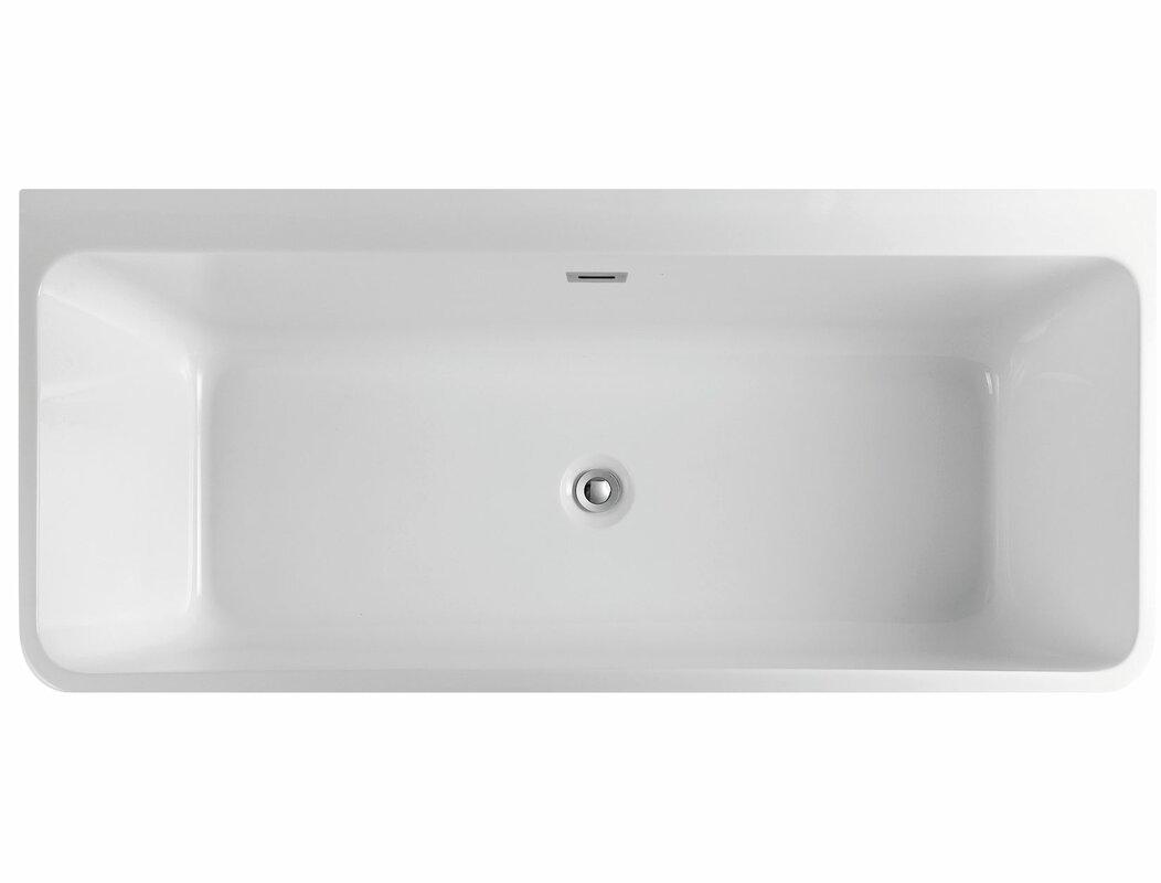 55-59 inches Bathtubs You\'ll Love | Wayfair