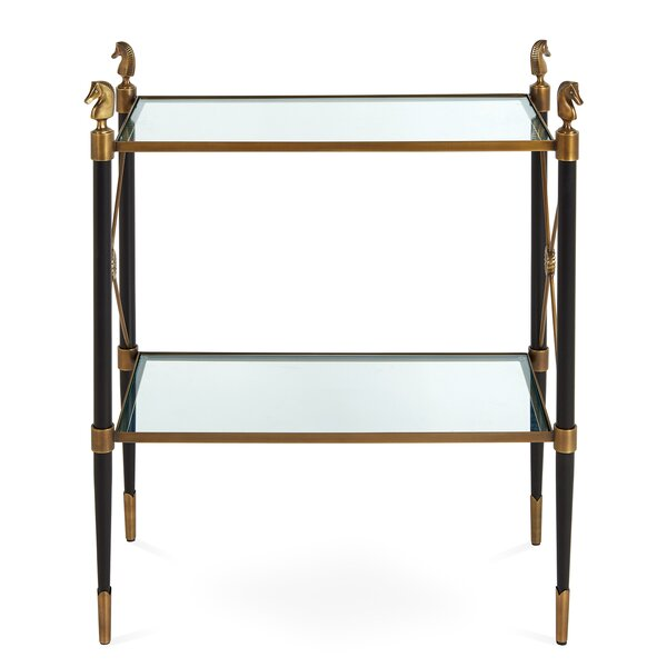 Rider 2 Tier Side Table by Jonathan Adler