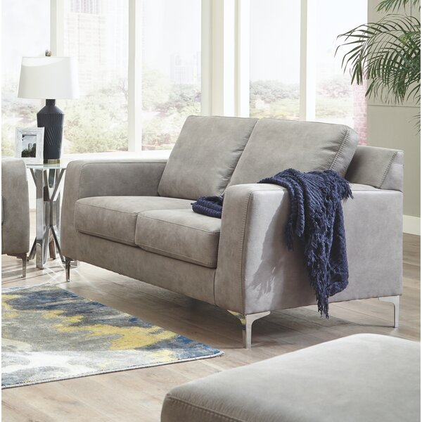 Cute Style Isabelle Loveseat by Modern Rustic Interiors by Modern Rustic Interiors