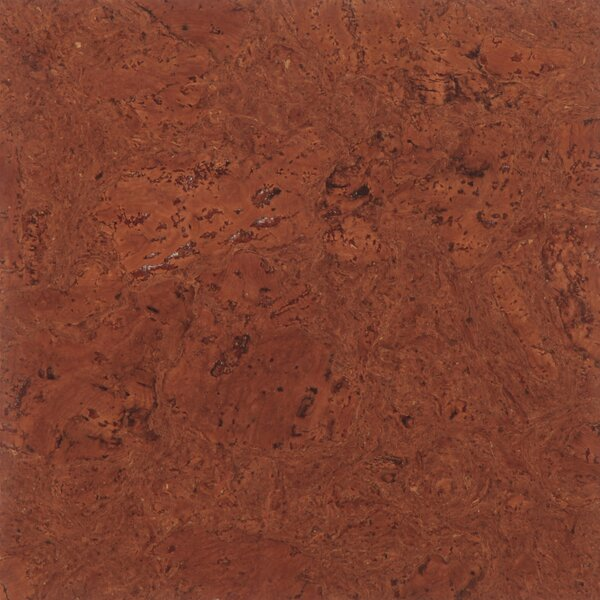 Floor Tiles 12 Solid Cork Hardwood Flooring in Mirage Brown by APC Cork