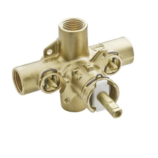 M-Pact Pressure Balancing Rough-In Valve with Stops by Moen