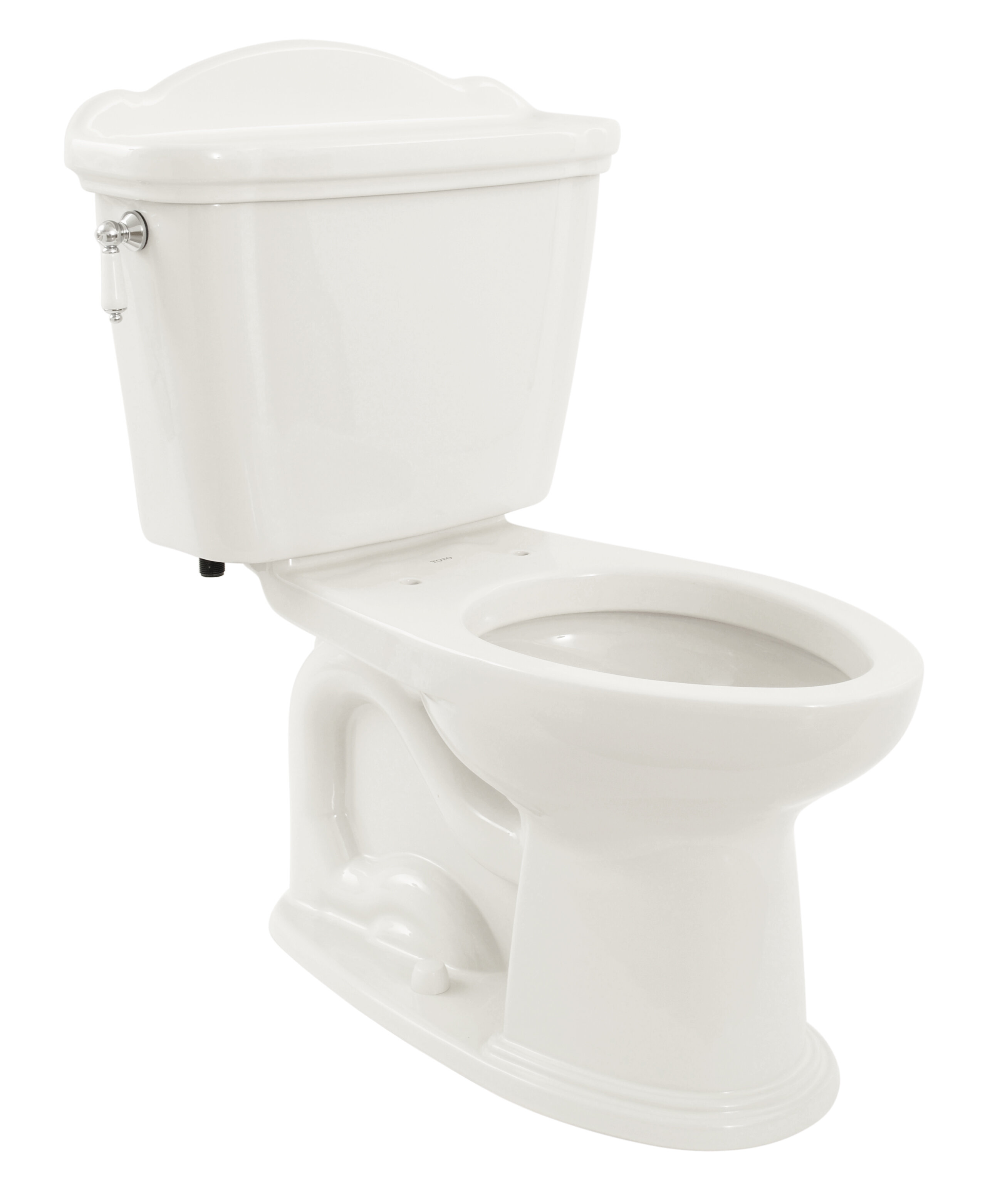 Toto Eco Whitney 1.28 GPF Elongated Two-Piece Toilet (Seat Not ...