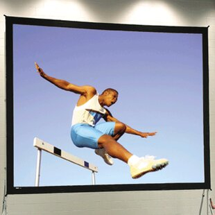 Black Portable Projection Screen Da-Lite