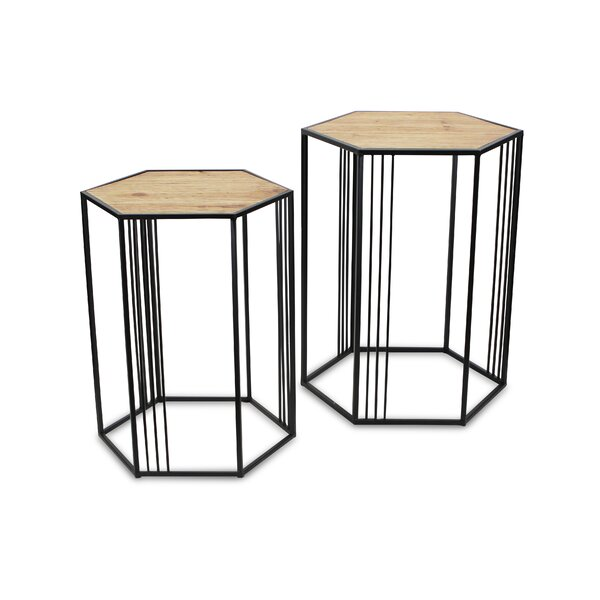 Review Danforth Frame Nesting Tables