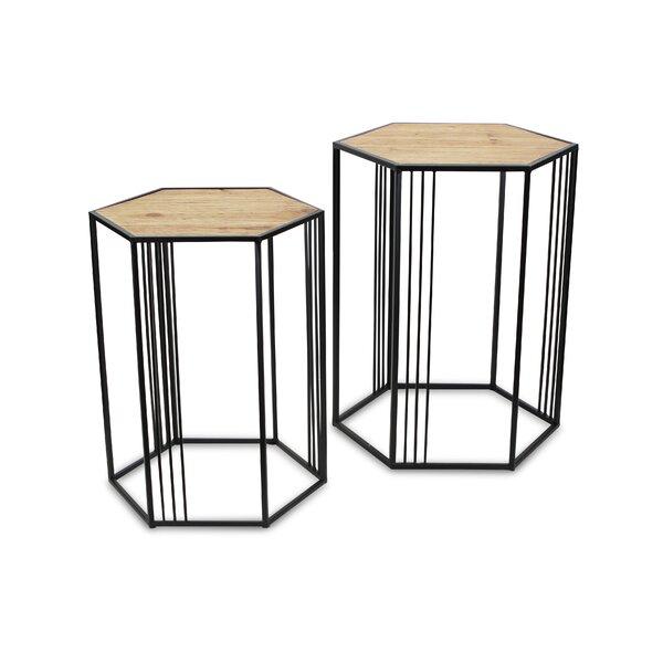 Patio Furniture Danforth Frame Nesting Tables