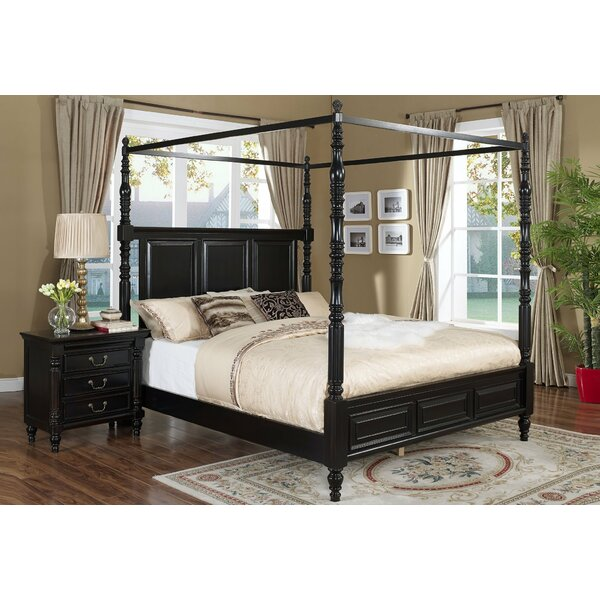 Marita Canopy Bed by Darby Home Co Darby Home Co