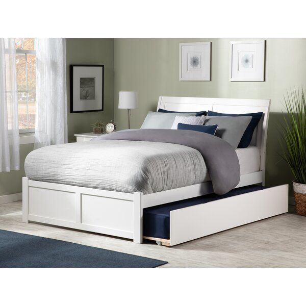 Wasilewski Sleigh Bed with Trundle by Viv + Rae