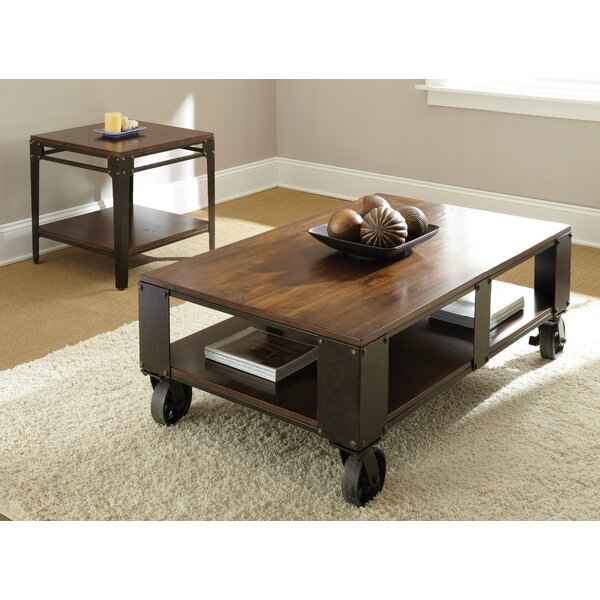 Carmela 2 Piece Coffee Table Set by 17 Stories