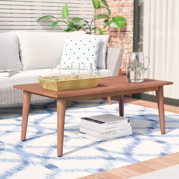 Newbury Solid Wood Coffee Table by Langley Street™