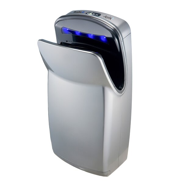Surface-Mounted Sensor-Operated Hand Dryer with High Impact ABS Cover by Bradley Corporation