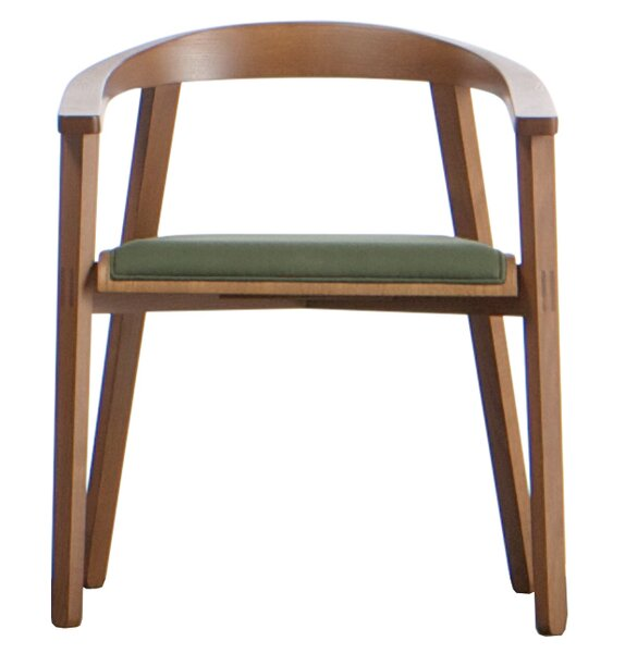 Toro Solid Wood Arm Chair By Adriano