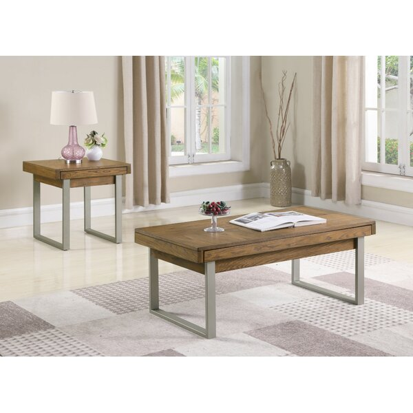 Ann 2 Piece Coffee Table Set by Foundry Select Foundry Select