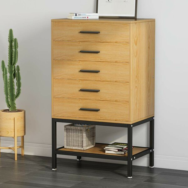 Plath 5 Drawer Chest by Ebern Designs