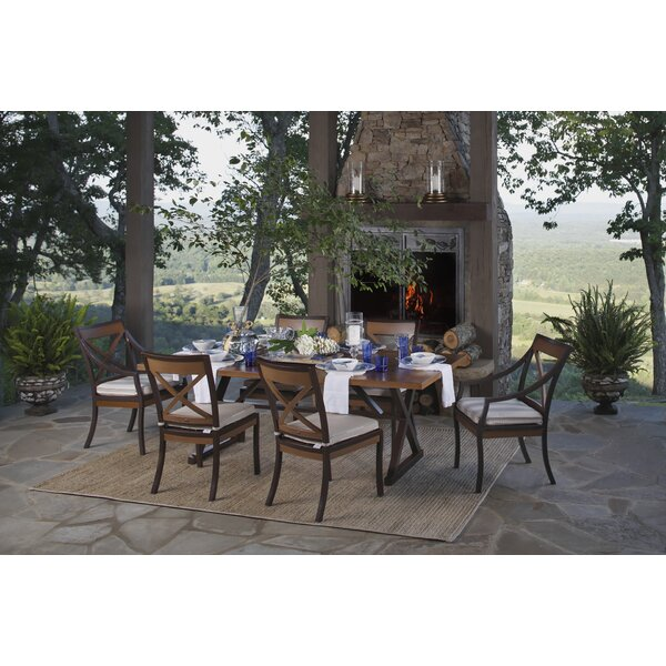 Belize 7 Piece Dining Set with Cushions