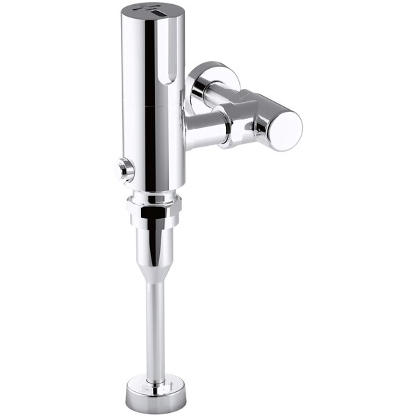 Wave Exposed Hybrid 0.125 GPF Washout Flushometer for Urinal Installation by Kohler