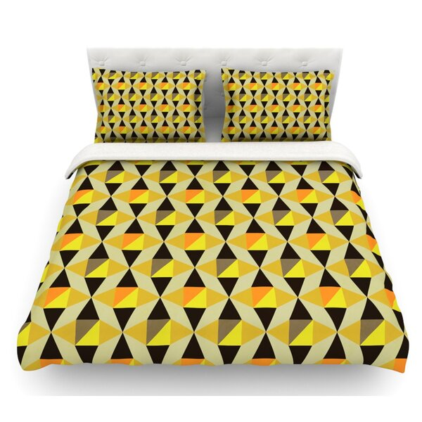 Onyx by Louise Machado Featherweight Duvet Cover by East Urban Home