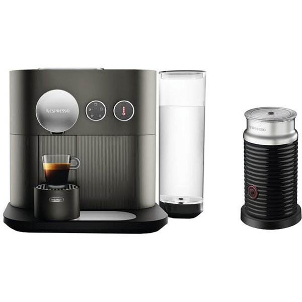 Nespresso Expert Single-Serve Espresso Machine and Aeroccino Milk Frother by DeLonghi