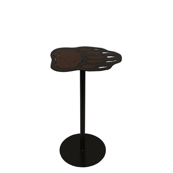 Looking for Norah Iron Bear Paw Pub Table By Millwood Pines Best Design