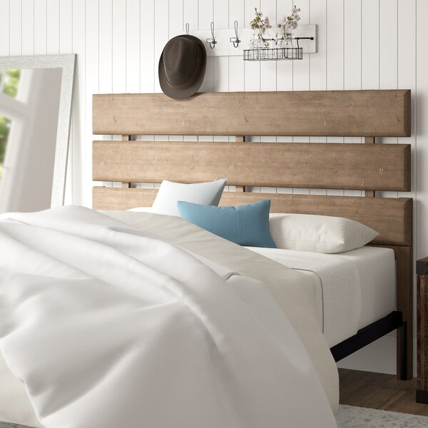 Fort Oglethorpe Slat Headboard by Laurel Foundry Modern Farmhouse