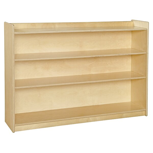 Mobile Shelving Unit by Wood Designs