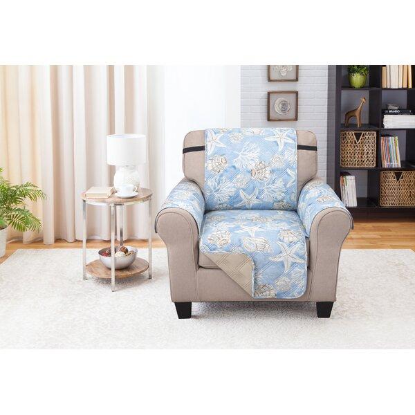 Box Cushion Armchair Slipcover By Highland Dunes