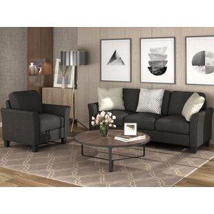Pagar 2 Piece Living Room Set by Red Barrel Studio®