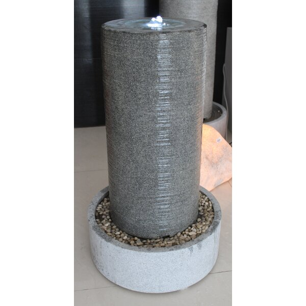 Column Round Base Fountain by Screen Gems