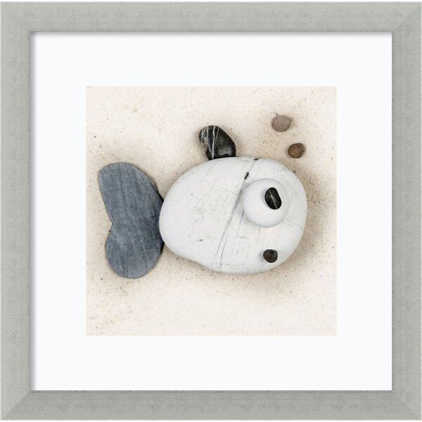 Stonefish II  Framed Painting Print by Zoomie Kids