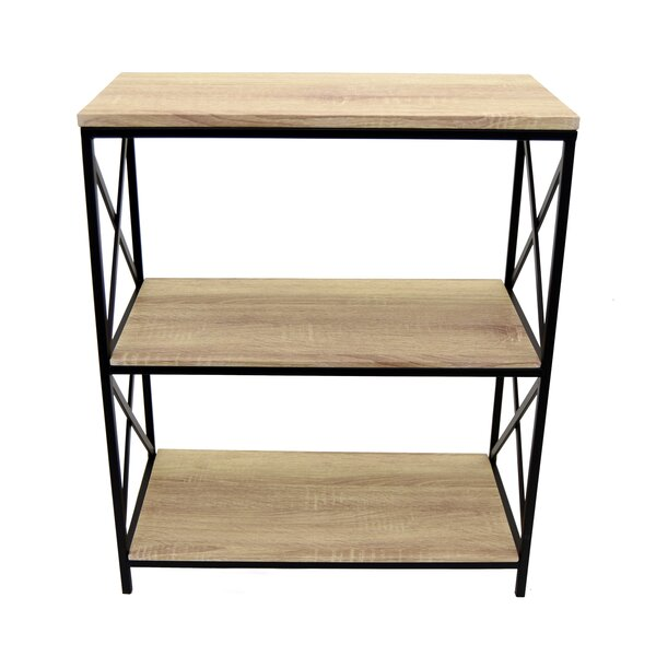 Pollux Metal Standard Bookcase by Gracie Oaks