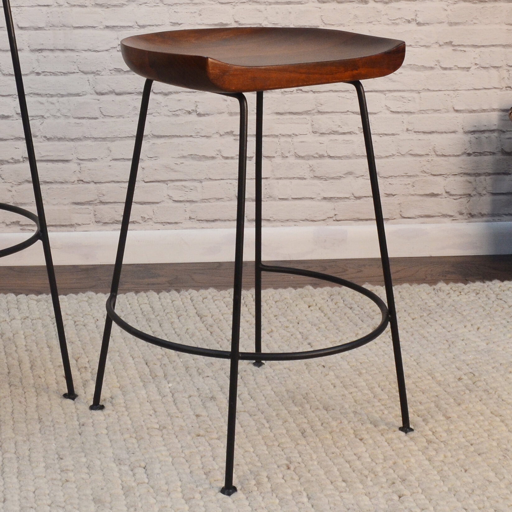 Union Rustic Axelle Bar Counter Stool
