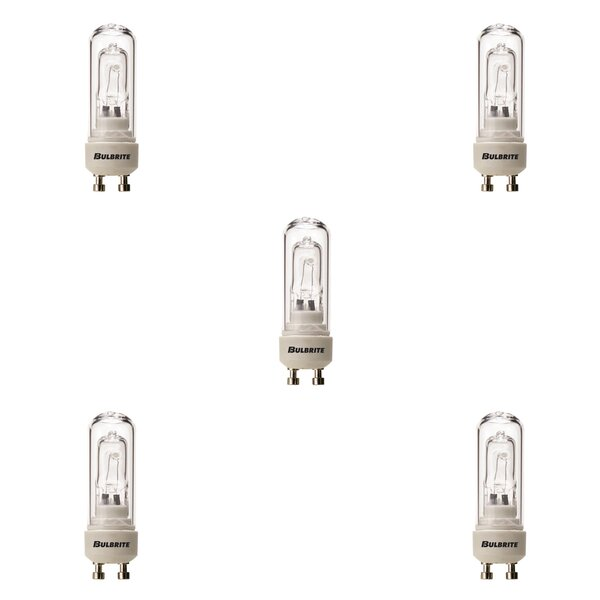 GU10 Dimmable Halogen Capsule Light Bulb (Set of 5) by Bulbrite Industries