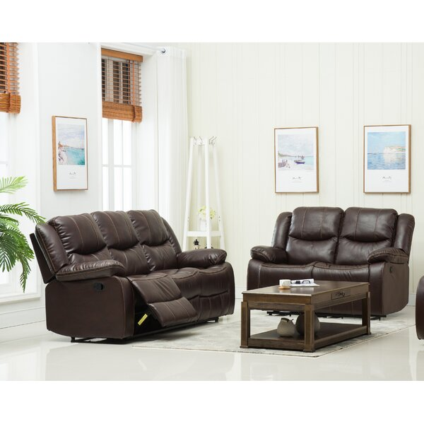 Jayesh 2 Piece Reclining Living Room Set by Red Barrel Studio