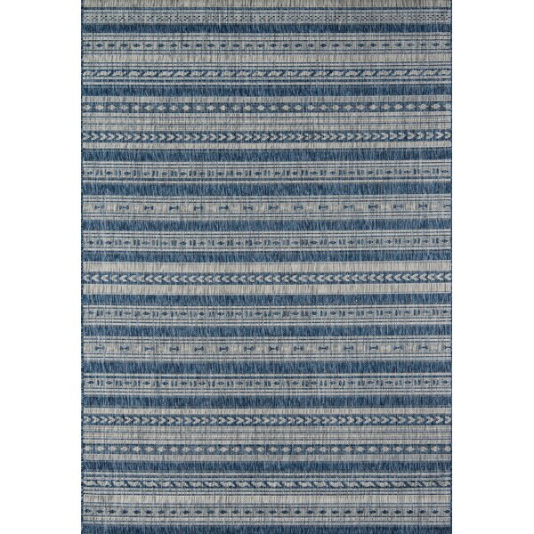 Tuscany Blue Indoor/Outdoor Area Rug by Novogratz