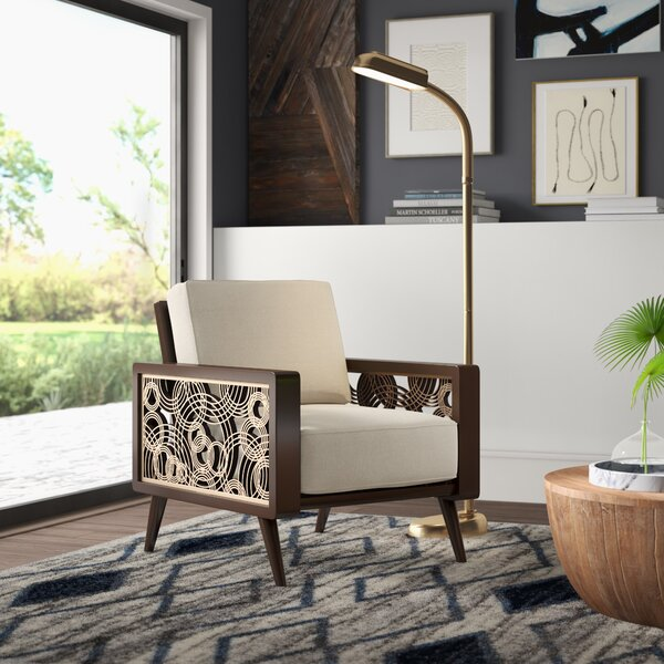 Mccumber 22.5-inch Armchair by Mercury Row Mercury Row