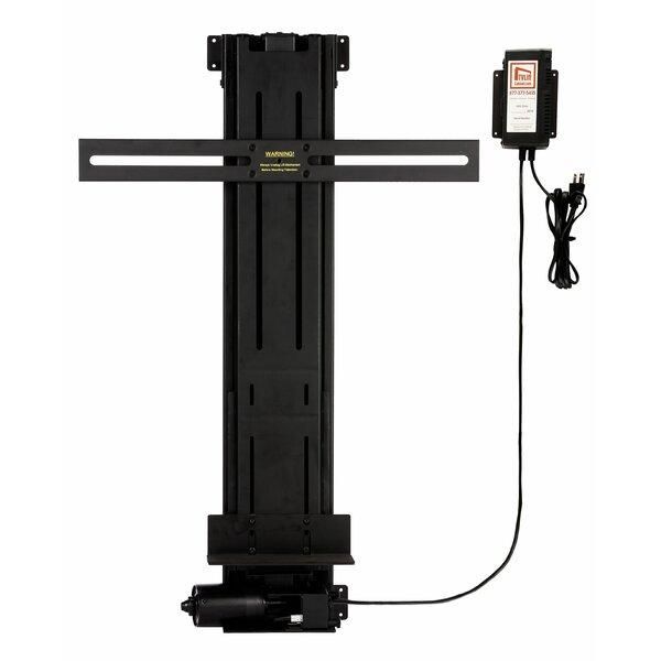 TV Lift Mechanism Pole Mount for 13-34.75 Tall Fla