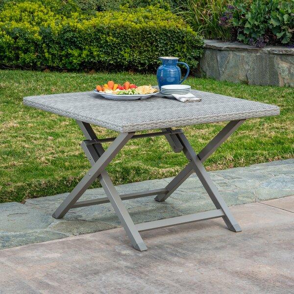 Spector Wicker/Rattan Dining Table by Ebern Designs