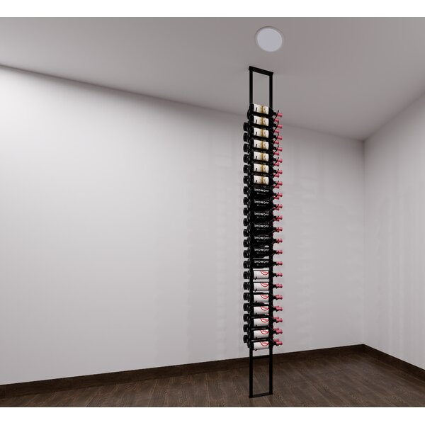 Java Floating 63 Bottle Wall Mounted Wine Bottle Rack by Rebrilliant Rebrilliant