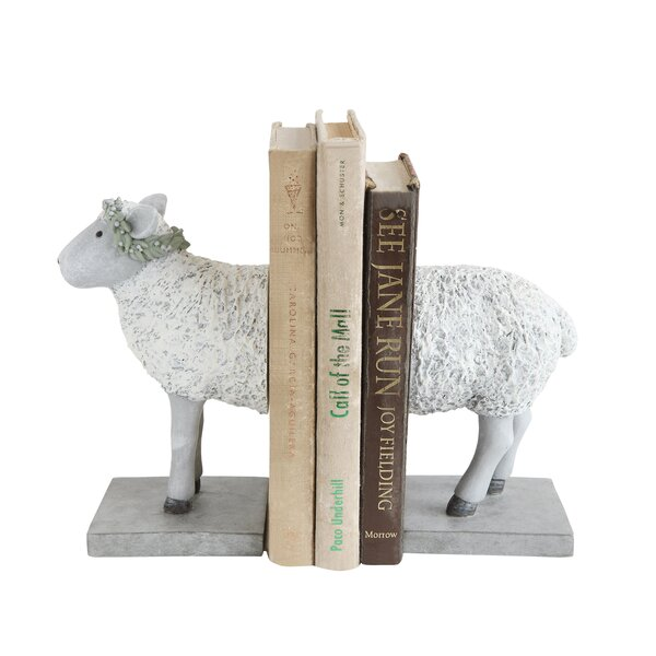 Sheep Bookends by August Grove
