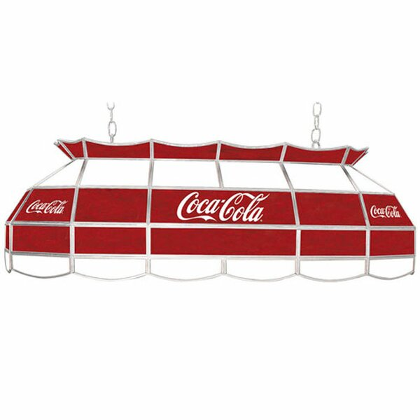 Coca Cola 3-Light Pool Table Light by Trademark Global