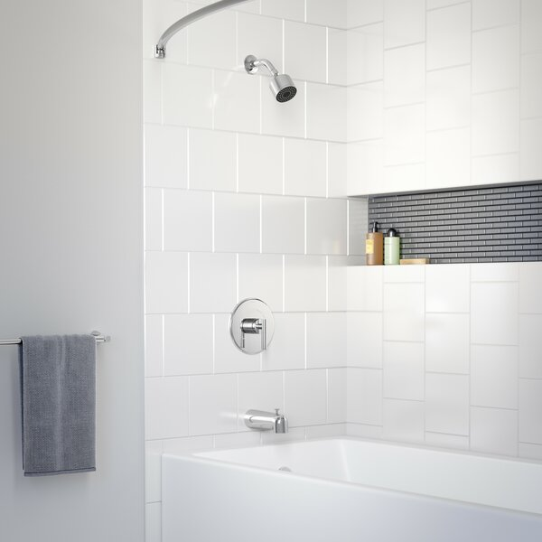 Dia Pressure Balanced Tub and Shower Faucet by Symmons Symmons