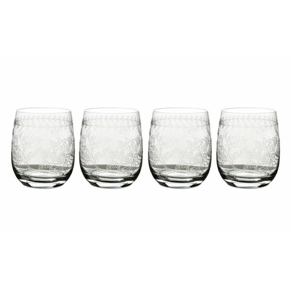 Botanic Garden 12 oz. Glass Cocktail Glass (Set of 4) by Portmeirion