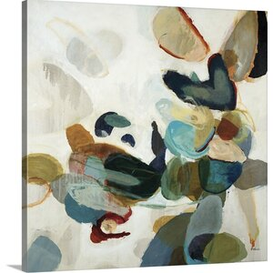 'Stone Pattern I' by Randy Hibberd Painting Print on Canvas by Great Big Canvas