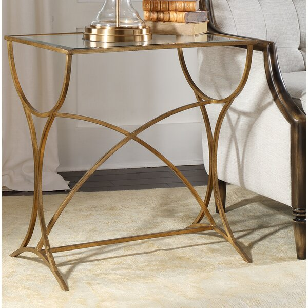 Davon Antiqued End Table By Rosdorf Park Best Design