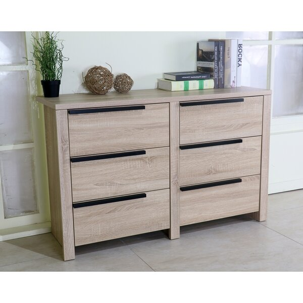 Oroville 6 Drawer Double Dresser by Ivy Bronx Ivy Bronx