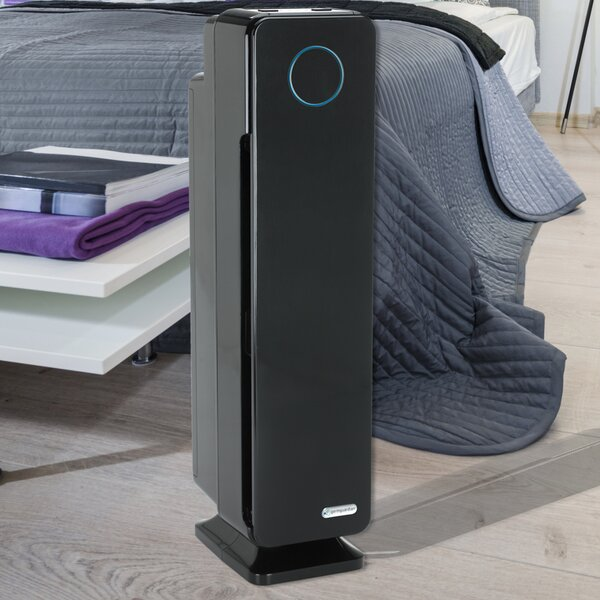 GermGuardian Room True HEPA Air Purifier with UV Sanitizer and Odor Reduction by Guardian Technologies