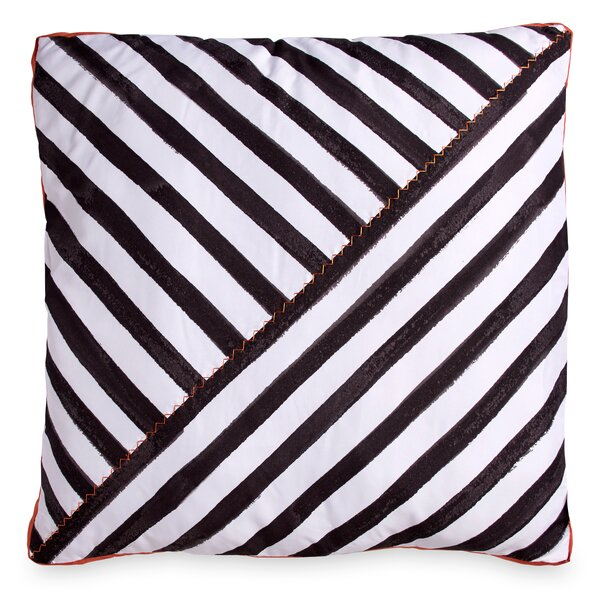 Frizzell Striped Throw Pillow by Ivy Bronx