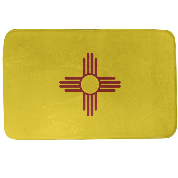 Fawcett New Mexico Flag Bath Rug