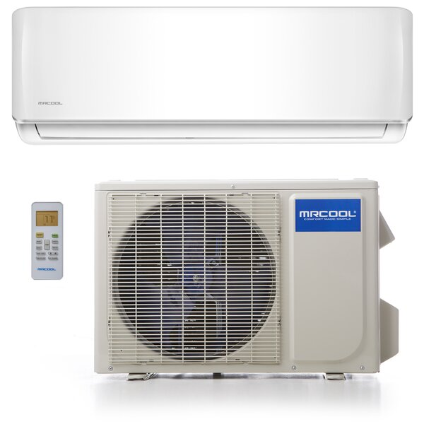 Advantage 12,000 BTU Ductless Mini Split Air Conditioner with Remote by MrCool