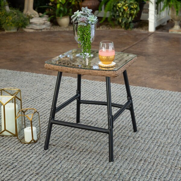 Delois Patio Side Table by Ivy Bronx